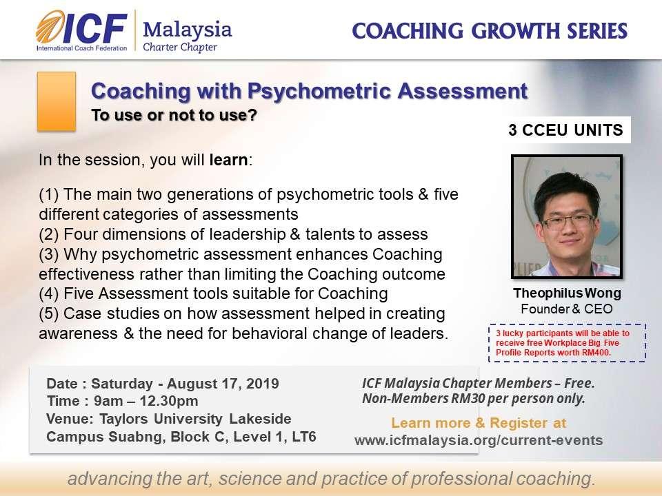 ICF Malaysia Coaching Workshop