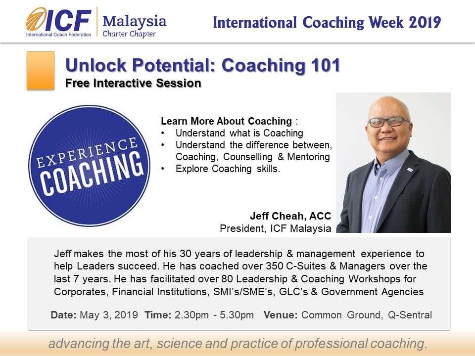 ICF Malaysia Coach Jeff ICW 2019
