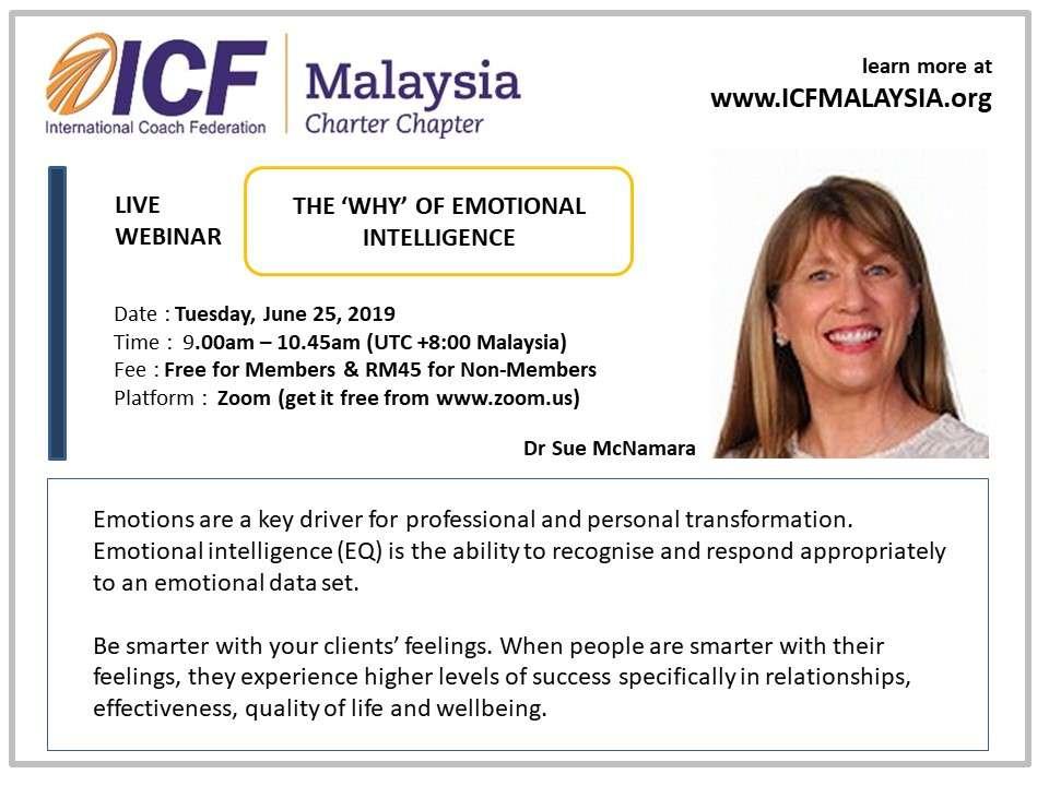ICF Malaysia Live Webinar Dr Sue McNamara 6seconds