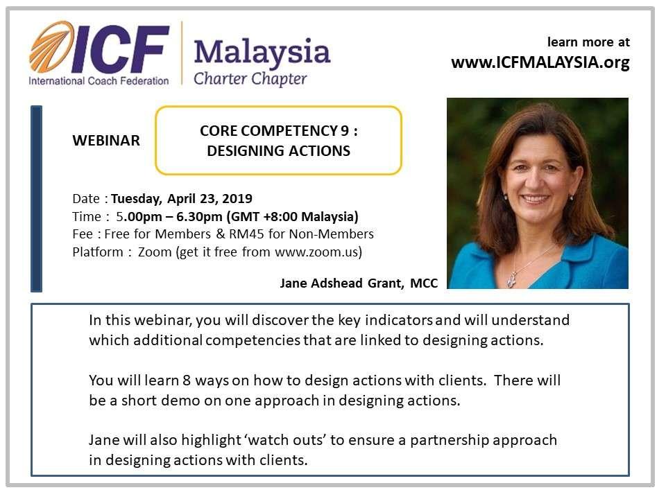 Webinar ICF Malaysia Coach Jane Adshead Grant MCC